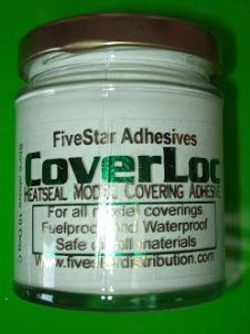Coverloc coverlock heat seal model covering adhesive glue use like balsaloc cover model aeroplanes